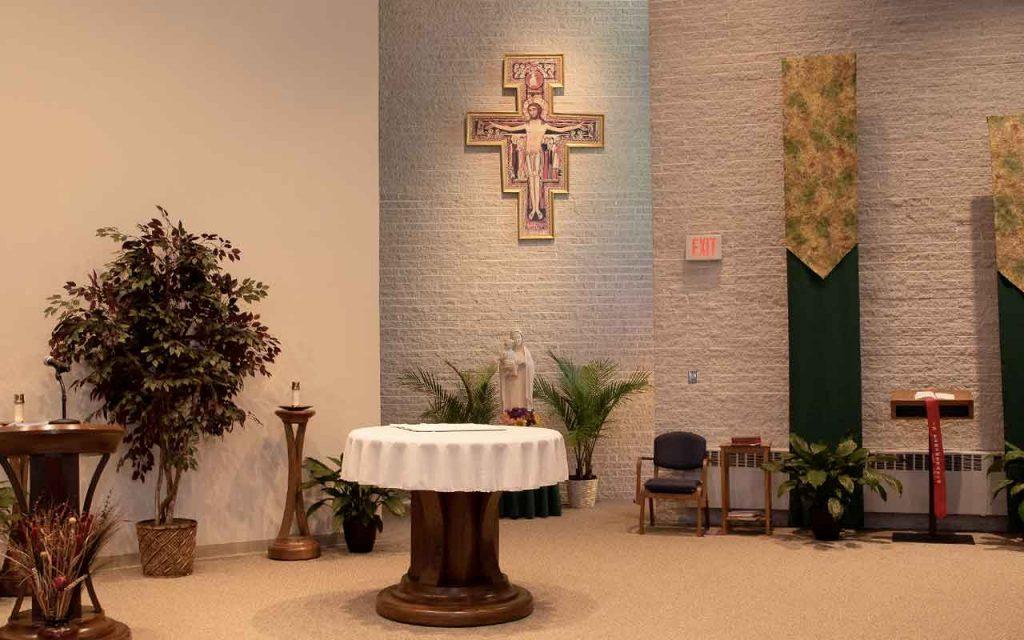 Chapel at Capuchin Retreat Center