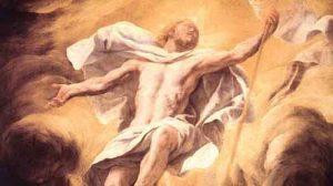 Resurrected Jesus by Luca Giordano